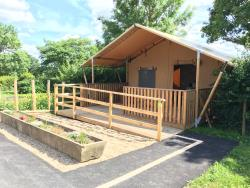 Lodge with wooden terrace - Wheelchair friendly  x 3