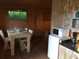 Rental - Lodge with wooden terrace - Wheelchair friendly  x 3 - Glamping Sainte-Suzanne