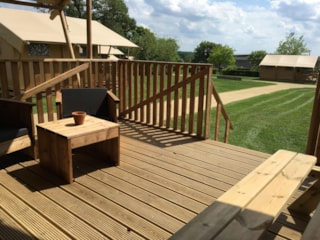 Lodge With Wooden Terrace  X 6