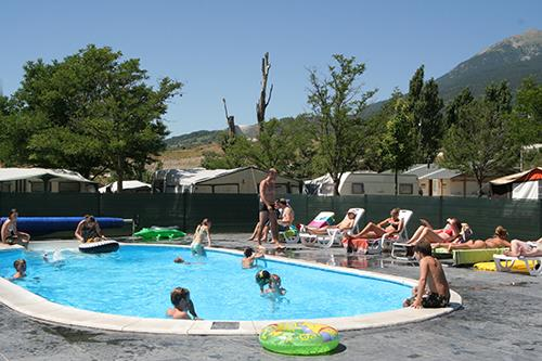 Baden Camping Les Eygas - Châteauroux-les-Alpes