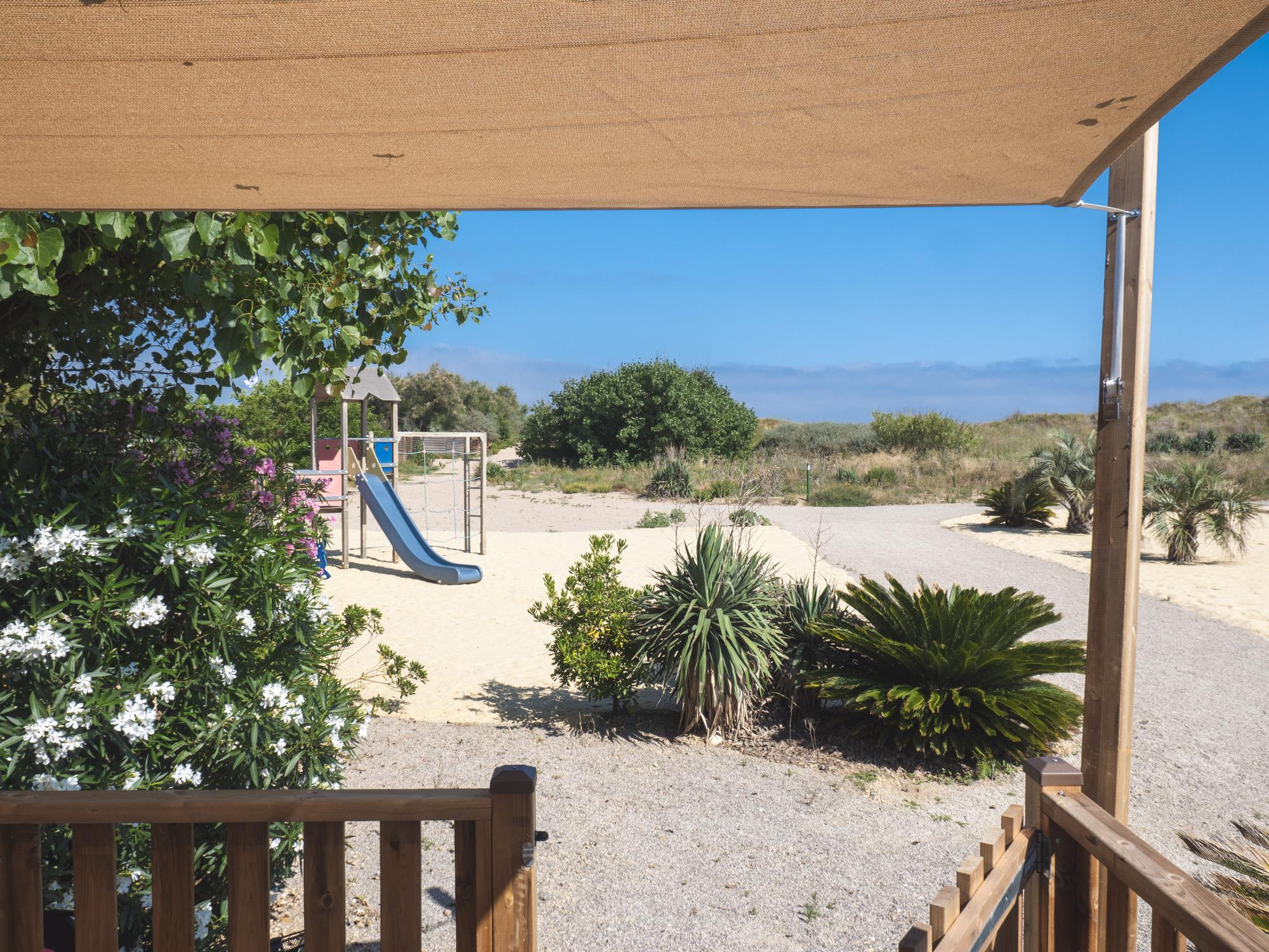 Accommodation - Dune Nature 7 Pers 3 Bdrm 33M² - Air Con - Camping Le Serignan Plage Nature