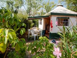 location BUNGALOW Tent 5 pers 2 bd...