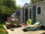 Rental - FAMILLE 6 pers 3 rm 32m² - Air Cond. - Camping Serignan Plage Nature