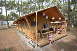 Huuraccommodatie - Jungle Lodge - Camping Eurosol