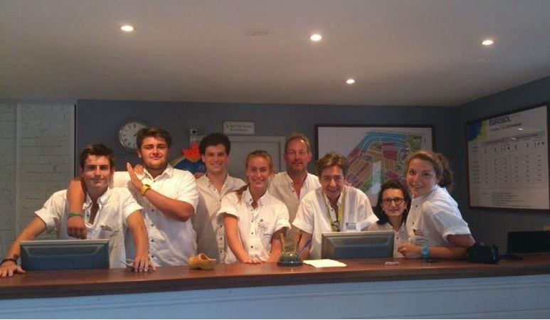 Reception team Camping Eurosol - Saint Girons Plage