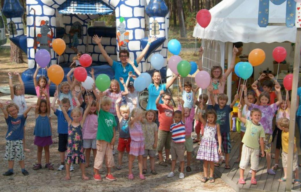 Entertainment organised Camping Eurosol - Saint Girons Plage