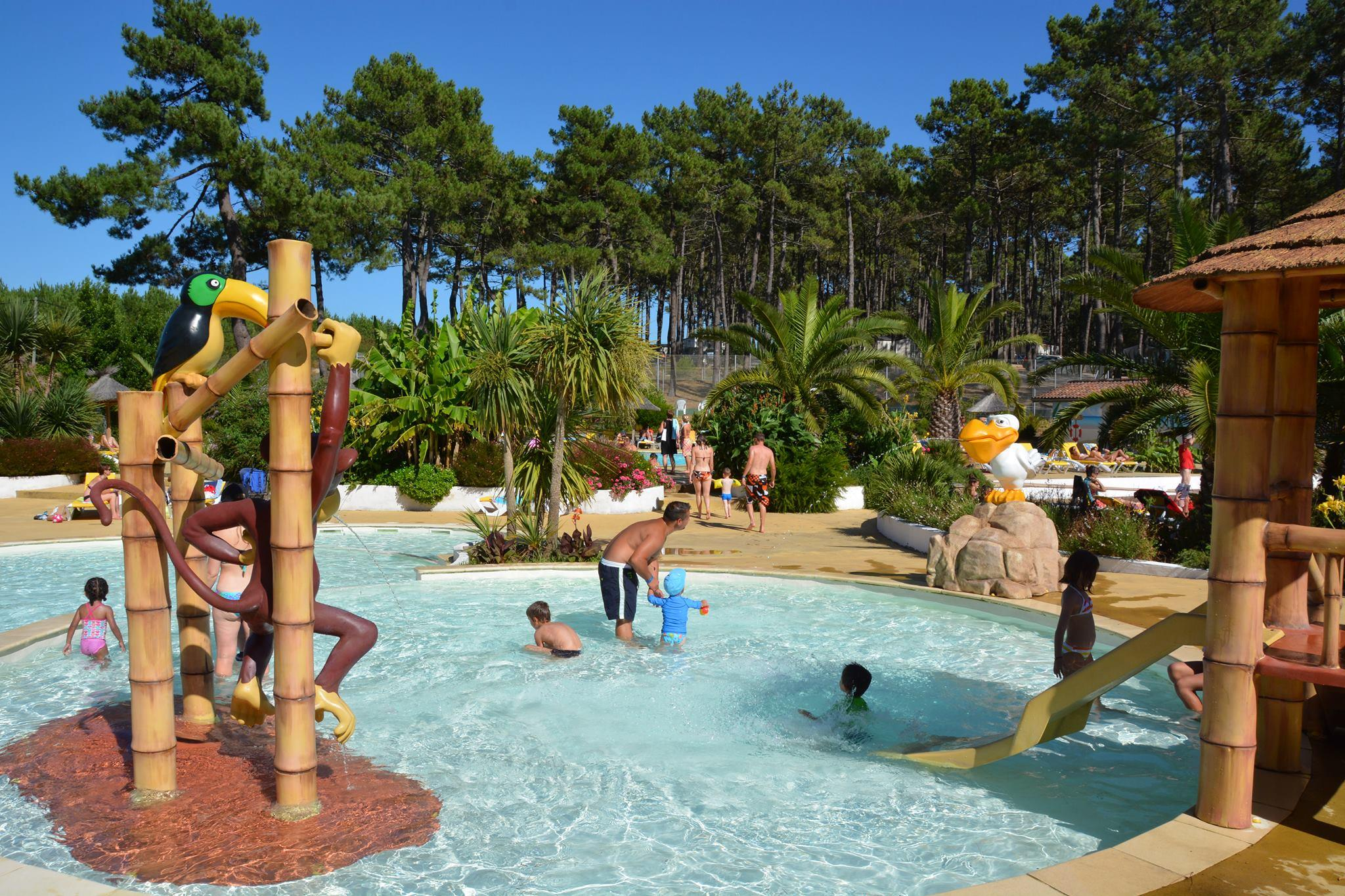 Zwemplezier Camping Eurosol - Saint Girons Plage