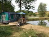 Rental - Canvas Bungalow Without Toilet Blocks - Domaine des Lacs de Gascogne