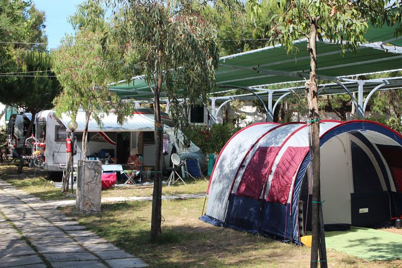 Emplacement - Emplacement + Tente - Camping Village Molinella Vacanze