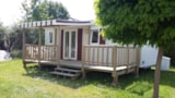 Rental - Cottage Océane + Half-Covered Terrace - Camping Le Diben