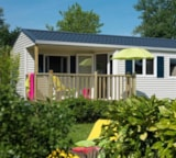 Rental - Cottage Pacific + Terrace - Camping Le Diben