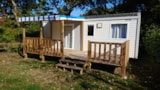 Rental - Cottage Hoedic +Half-Covered Terrace - Camping Le Diben