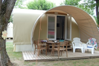 Furnished Tent Coco 16M² (1 Bedroom)** - Without Toilet Blocks