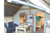 Rental - Furnished Tent River Lodge 21M² (2 Bedrooms)** - YELLOH! VILLAGE - LE PRE LOMBARD