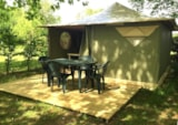 Rental - Canvas Bungalow Muscade | 2 Bedrooms - Camping Les Chapelains