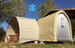 Location - Coco Sweet Climatisée | 2 Chambres - Camping Les Chapelains