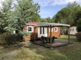 Rental - Mobilhome Familial - 3 Bedrooms - Camping La Chesnays
