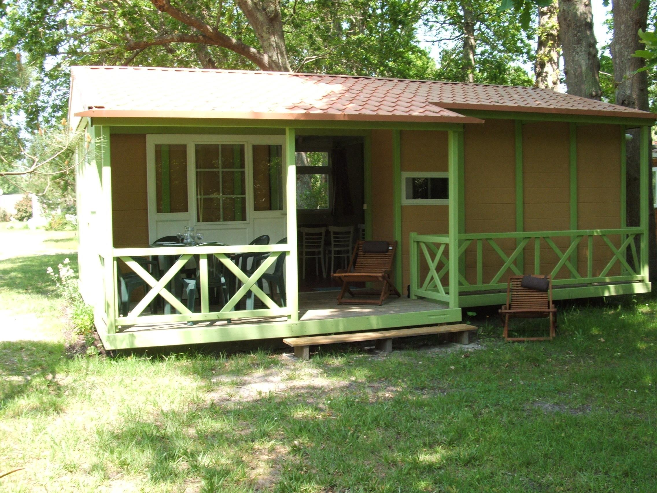 Location - Chalet Grand Large 'Est' - 3 Chambres - Camping La Chesnays