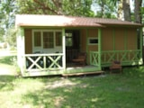 Rental - Chalet GRAND LARGE 'EST' - 3 bedrooms - Camping La Chesnays
