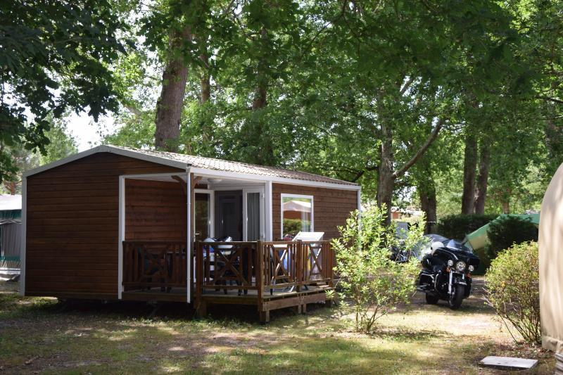 Location - Mobil-Home Montana - 2 Chambres - Camping La Chesnays