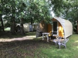 Rental - Canvas Bungalow Coco Sweet Without Toilet Blocks - 1 Bedroom - Camping La Chesnays