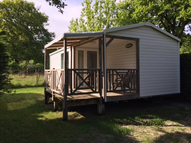 Location - Mobil-Home Loggia - 2 Chambres - Camping La Chesnays
