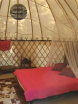 Rental - Mongolian Yurt without toilet blocks - Camping Mille Etoiles