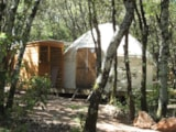 Rental - Romantic Mongolian yurt - without toilet blocks - Camping Mille Etoiles