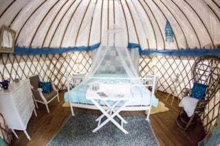 Romantic Mongolian Yurt - Without Toilet Blocks