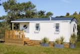 Rental - Cottage 2 bedrooms half-covered terrasse TV - Airotel Camping La Roche Posay Vacances