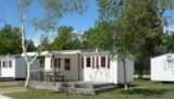 Rental - Mobile-Home Confort 26M² - 2 Bedrooms + Half-Covered Terrace - Camping Le Tastesoule