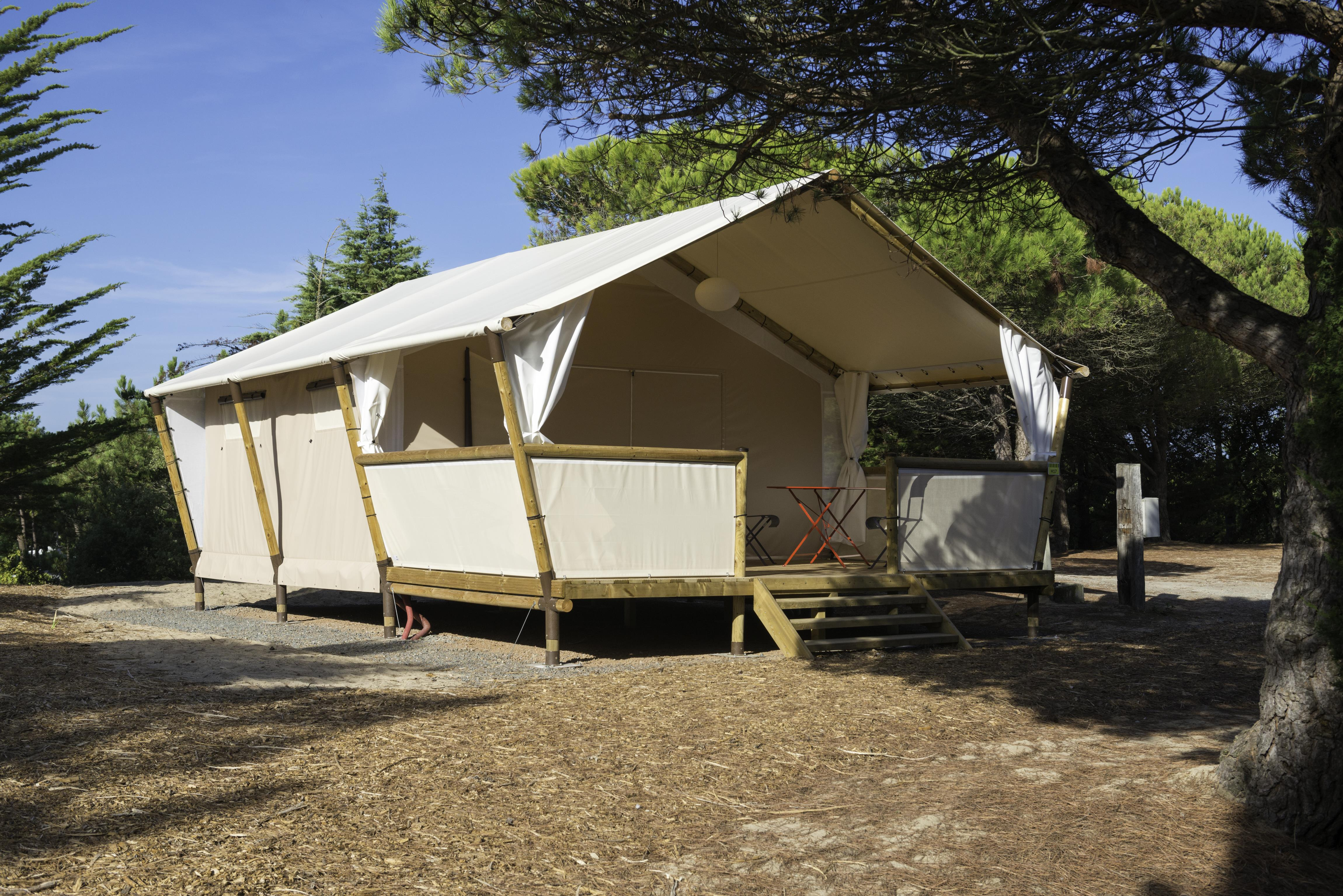 Location - Pagan Lodge Maasaï 2 Chambres - Camping Campéole Médoc Plage
