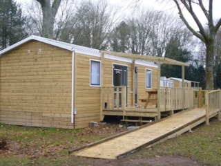Mobile Home Confort 35M² - 2 Bedrooms (Adapted To The People With Reduced Mobility)