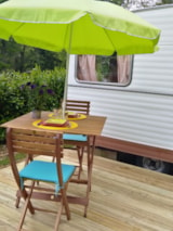 Rental - Vintage Caravan All Comfort Close To Nature - Camping le Lac O Fées