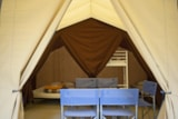 Huuraccommodaties - Toile&bois tent Classic IV - Huttopia Vallouise