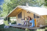 Huuraccommodaties - Toile&Bois tent Cosy - Huttopia Vallouise
