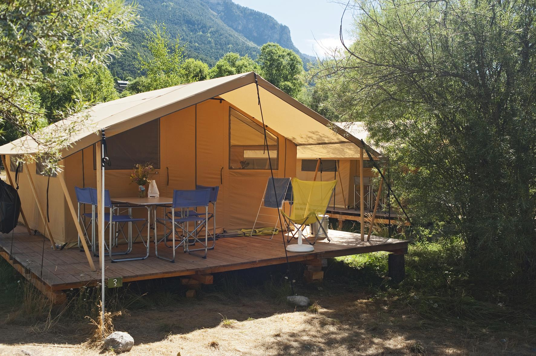 Camping Huttopia Vallouise, Vallouise, Hautes-Alpes