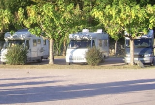 Package * : camping-car parking on area in front of the campsite + electricity