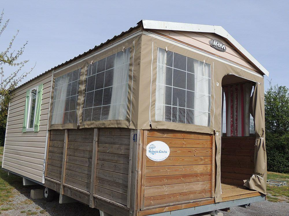 Mietunterkunft - Obile Home 2 Bedrooms Without Sanitation - Camping BEAUME GIRAUD