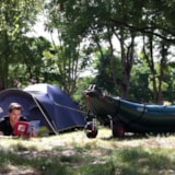 Pitch - Pitch without electricity : car + tent/caravan or camping-car - Camping de L'Ile