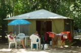 Rental - Canvas bungalow - Camping de L'Ile