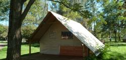 Accommodation - Tent Canvas And Wood - Adapted To The People With Reduced Mobility - CAMPING LE NID DU PARC