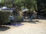 Pitch - Pitch + vehicle + electricity 10A - Camping La Pège