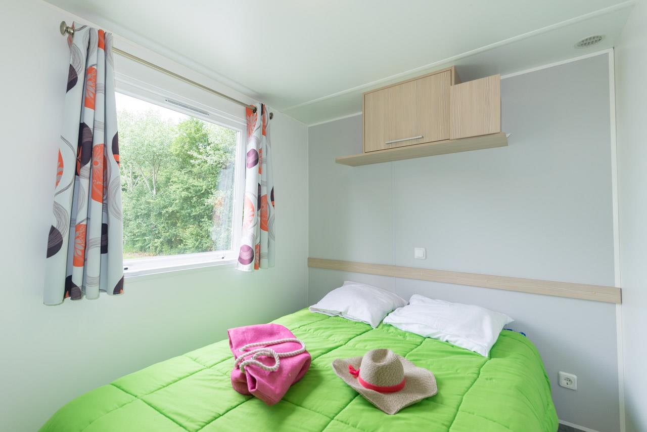 Location - Mobil-Home 33Tp 25M² 2 Chambres - Camping La Fontaine