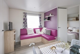 Mobile-Home Luxe 30M² 2 Bedrooms 1 Bathrooms