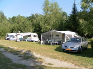 Package tent + vehicle + electricity 6A
