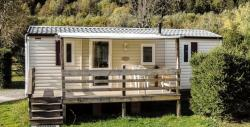 Accommodation - Mobil Home Le Chamoix 2 Bedrooms / Arrival And Departure On Sunday In July And August - Camping Les Marmottes