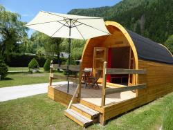Accommodation - Pod Gypaète 12M² / Arrival And Departure On Saturday In July And August - Camping Les Marmottes