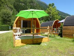 Accommodation - Pod Tétras 12M² / Arrival And Departure On Saturday In July And August - Camping Les Marmottes