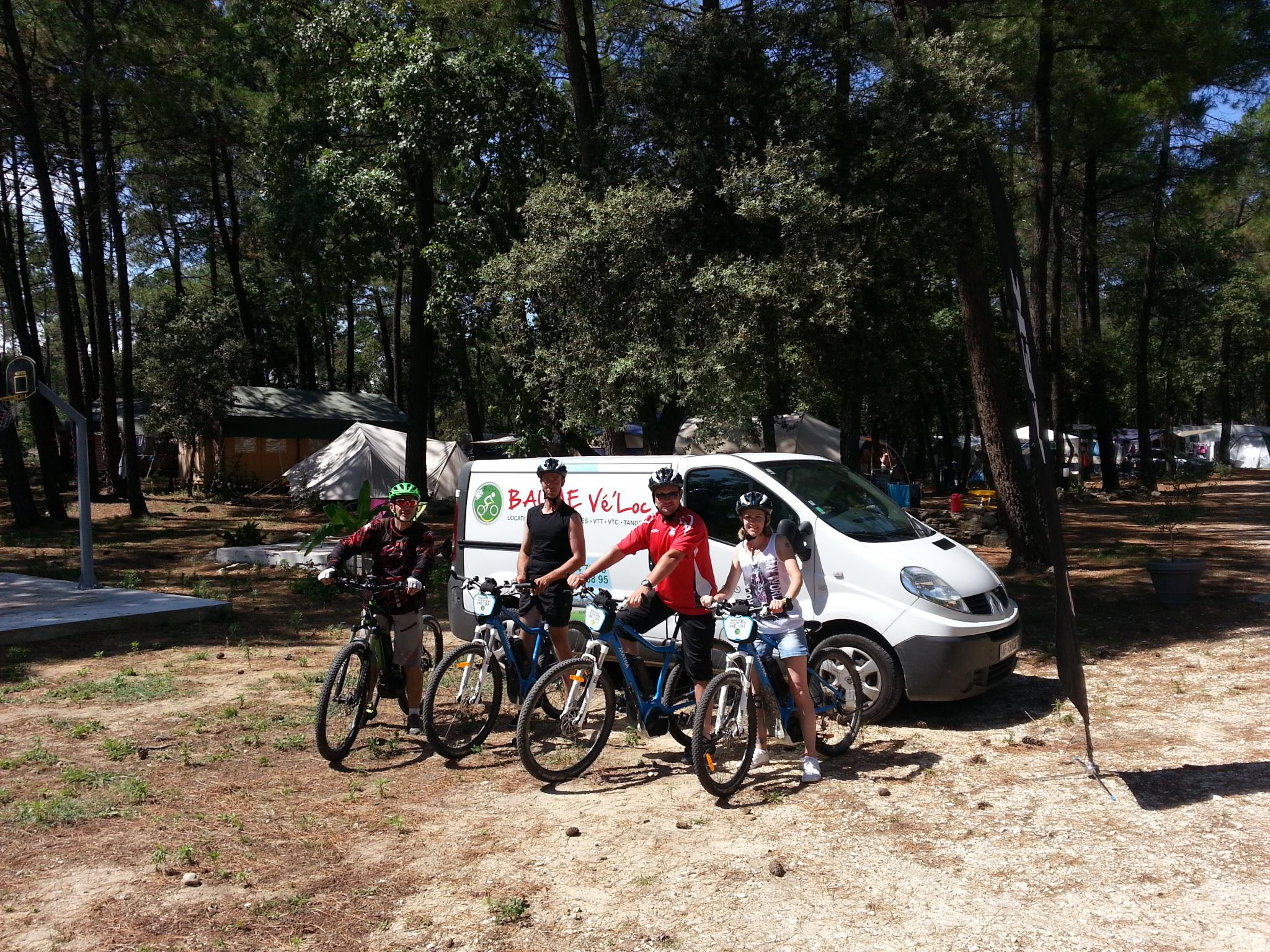 Sport activities Camping La Simioune en Provence - BOLLENE